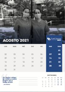 calendario 2021 los llanos vital